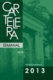 Page 1 22-13 Del 18 al 23 de febrero Page 2 Cartelera Semanal ...