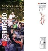 2011 Schools Guide - Stratford Festival