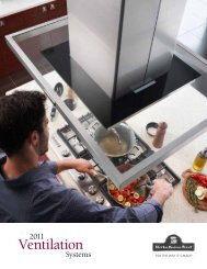 KitchenAid Vent Brochure - Advancerefrigeration.com