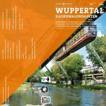 Kaiserwagenfahrten 2013 - Wuppertal Marketing GmbH