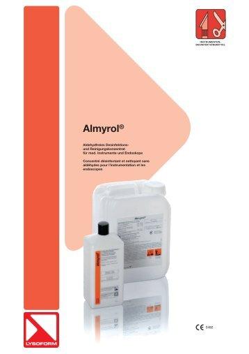 Almyrol® - LYSOFORM Dr. Hans Rosemann GmbH