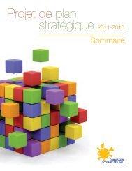 Projet de plan stratégique 2011-2016 - Commission scolaire de Laval