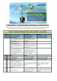 program konference - Ministrstvo za gospodarski razvoj in tehnologijo