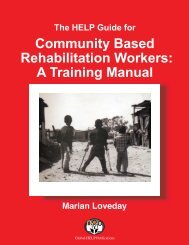 The HELP Guide For Community Based ... - Global HELP