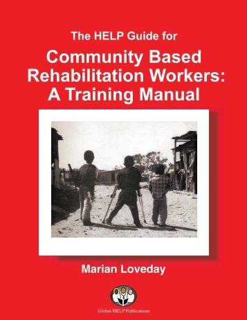 community based rehabilitation essay