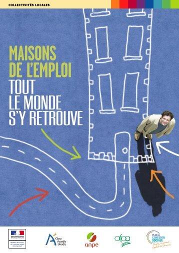Brochure Maison de l'emploi - Sarthe