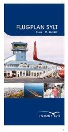 Flugplan 2012 - Kampen auf Sylt