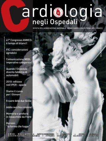 Cardiologia negli Ospedali n° 175 Maggio/Giugno 2010 - Anmco