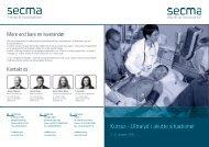 Kursus - Ultralyd i akutte situationer - Secma