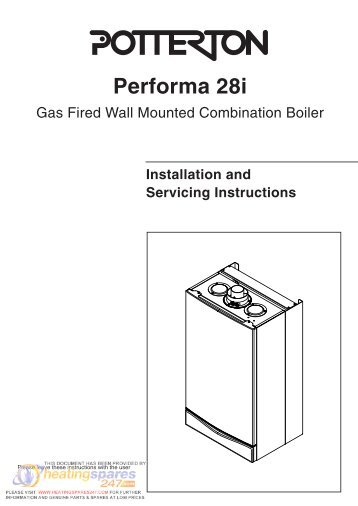 Potterton-Performa-24-Installation-Manual - Heatingspares247.com