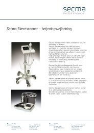Download Secma Blærescanner brugermanual (.pdf)