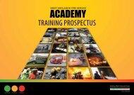 Academy Training Prospectus - West Midlands Fire Service