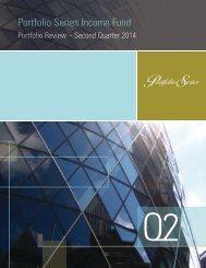 Portfolio Series Income Fund - CI Investments