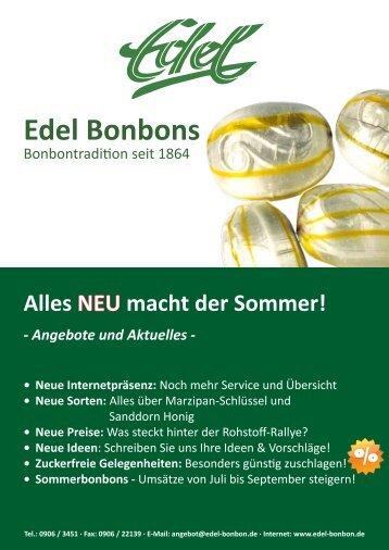 Edel Bonbons - Eduard Edel GmbH Bonbonfabrik