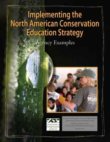 Implementing the North American Conservation Education Strategy