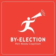 Port Moody-Coquitlam By-election - Householder - Elections BC