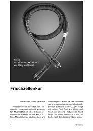 Frischzellenkur - Klang und Kunst