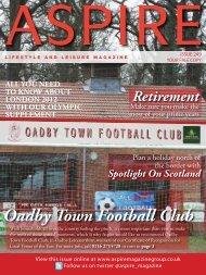 Oadby Town Football Club - Aspire Magazine