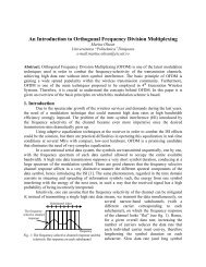 An Introduction to Orthogonal Frequency Division Multiplexing