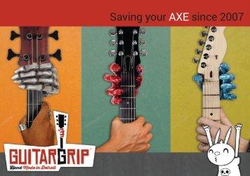 Saving your AXE since 2007