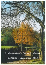 Crook Magazine 2012 10-11.pdf - The Parish of Crosthwaite and Lyth