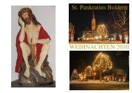 In eigener Sache - Pfarrgemeinde St. Pankratius Buldern