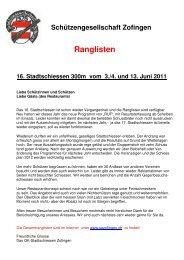 Rangliste Stadtschiessen Zofingen 2011 Pistole.pdf - Pistolenklub ...
