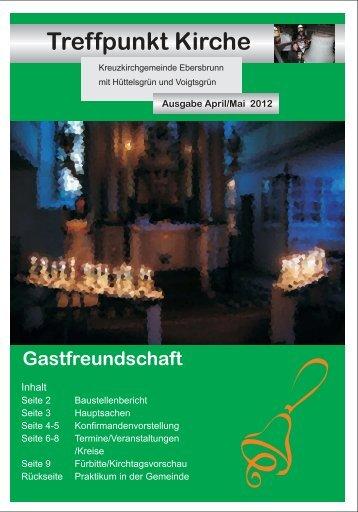 Mai - Ev.-Luth. Kirchgemeinden Ebersbrunn und Hirschfeld