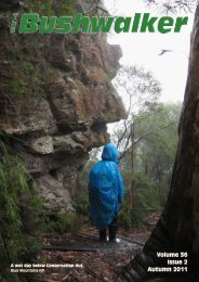 Volume 36 Issue 2 Autumn 2011 - Confederation of Bushwalking ...