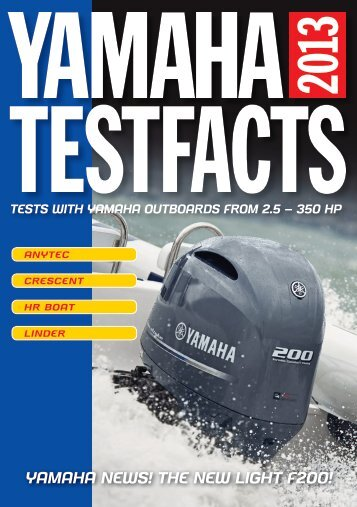 YAMAHA NEWS! THE NEW LIGHT F200! - Yamaha Motor Europe