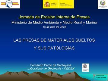 2. Las Presas de Materiales Sueltos y sus Patologías - spancold