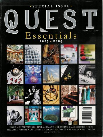 Quest - Great Jones Spa