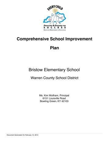 Bristow - Warren County Schools