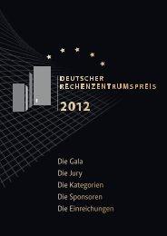 Deutscher Rechenzentrumspreis 2012