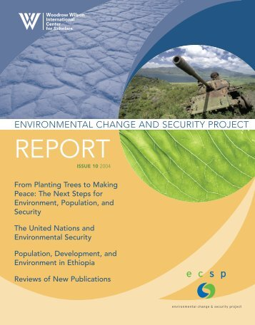 Environmental Change and Security Project Report - Woodrow ...