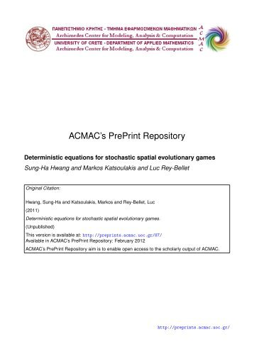 Download (3744Kb) - ACMAC's PrePrint Repository