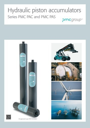 Hydraulic piston accumulators - PMC Group