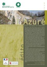 L'Azuré N°14 - La maison de l'environnement de Franche-Comté