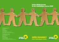 GRün veRbindet - Bündnis 90/Die Grünen Roetgen