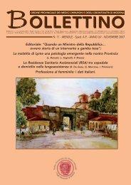 Novembre 2007 (pdf - 4.3 MB) - Ordine Provinciale dei Medici ...