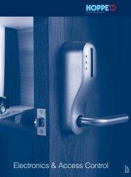 Electronics & Access Control - BW Hardware