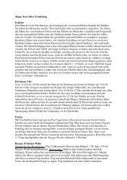 8. Majas News über Ernährung - Babaji's Kriya Yoga