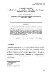 Extended Television: A Study of How Investigations of Use Can ...