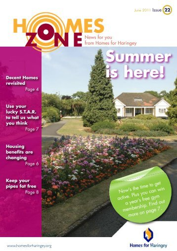 Page 8 June 2011 Issue 22 - Homes for Haringey
