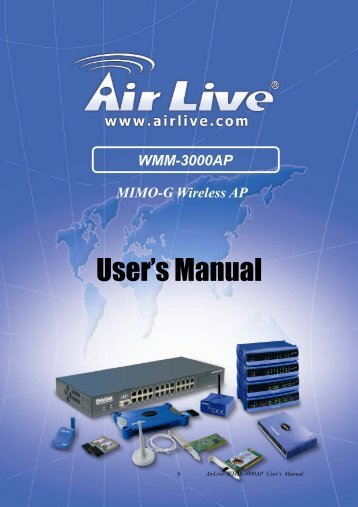 Wmm-3000ap - airlive