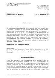 VwSen-550580/27/Wim/Bu Linz, 15. November 2011 E rkenntnis ...