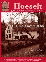 [2012] hoeselt - gemeenteberichten 245 juni.indd - Hoeselt.Be