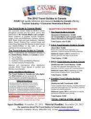 The 2012 Travel Guides to Canada - Destination Cape Breton ...