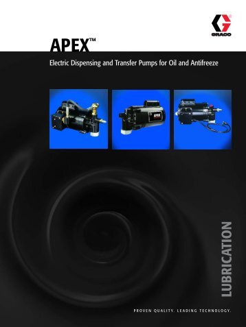 APEX Brochure - Graco Inc.