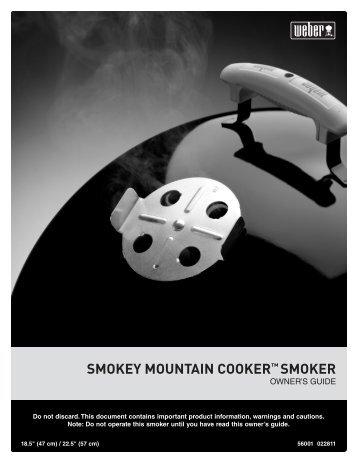 SMOKEY MOUNTAIN COOKER™ SMOKER - Home Depot